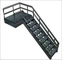 stair case 3d 3ds