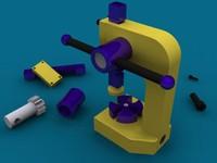 3d model arbor press