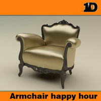 free obj mode armchair happy hour