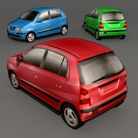 hyundai atos 3d model