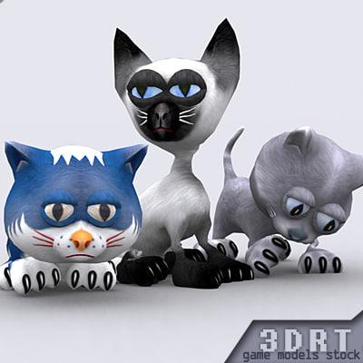 3DRT-toonpets-cats-pack.zip