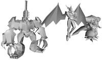 final fantasy 7 omega 3d model
