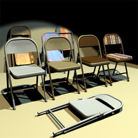 Folding Chairs 01