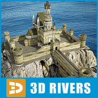 Gothic castle by 3DRivers