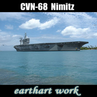 USS CVN-68 Nimitz aircraft carrier