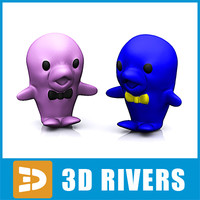 Rubber dolphins by 3DRivers