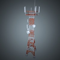 Telecom communications tower