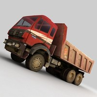 truck lorry vehicle 3d model
