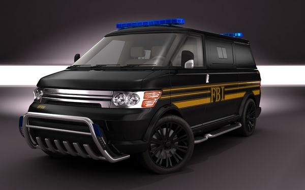 2011 Multi-MiniVan FBI concept