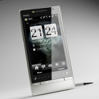 3d htc touch diamond 2 model