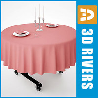 Portable hotel table by 3DRivers