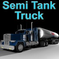 tank tanker 3d model