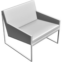 3d contemporary chair model
