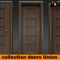 3d classic italian doors union