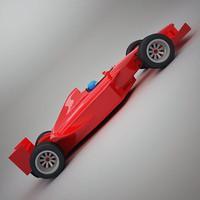 generic f1 car 3d max