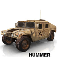 3d military hummer