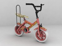 3ds max freestyle bike kid