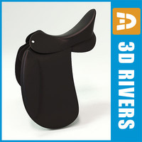 Dressage saddle by 3DRivers