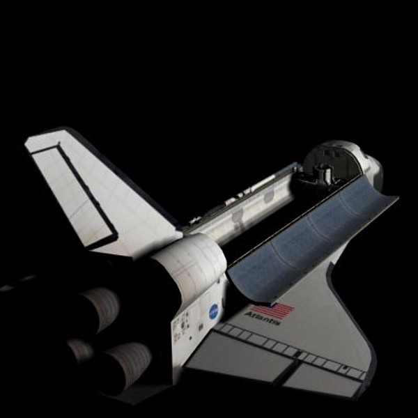 nasa shuttle 3d model - Space Shuttle... by jlerner2960