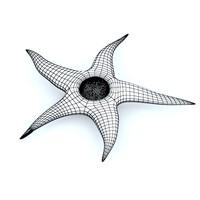 starfish 3d max