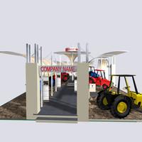3dsmax fair stand