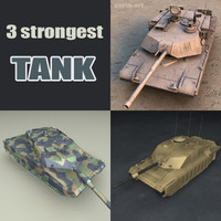strongest tanks 3d model