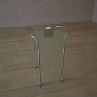 glass table tc 3801 3d 3ds