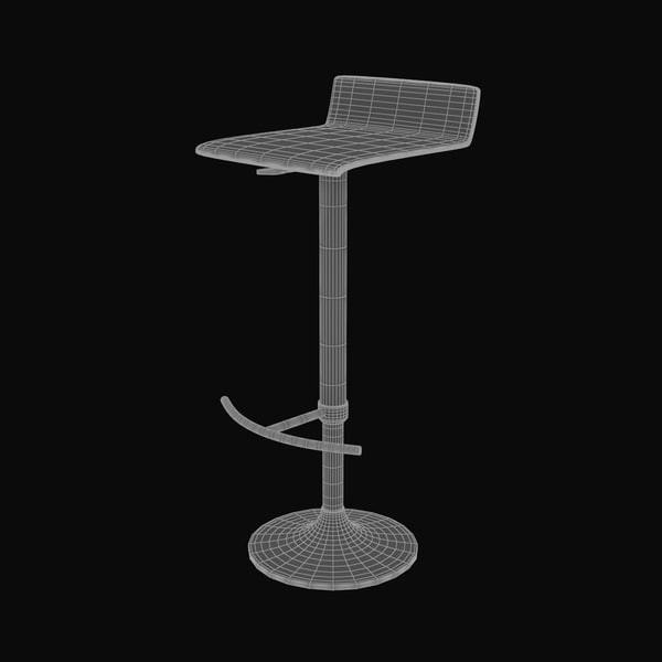 modern bar stool max - Barstool 02... by Lajhar