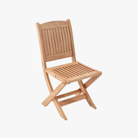 furniture wooden chair 3d obj