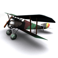 Hanriot HD1 WW1 Biplane fighter