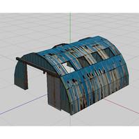 3d metal hangers model