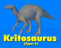 Kritosaurus (Type-1) Dinosaur