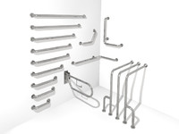 LR014A00 Handicap Rail System 3D MODEL
