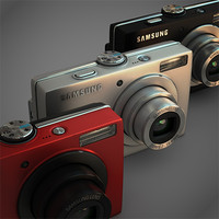 Samsung L100 digital camera pack