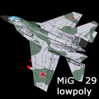 mig-29 fulcrum jet fighter lwo