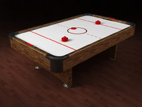 Airhockey table
