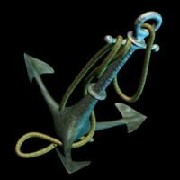 3d model anchor