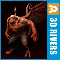 3d model balrog fantasy creatures