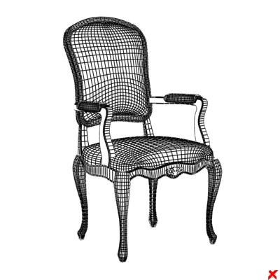 3ds max chair old fashioned - Chair old fashioned032.ZIP... by Fworx