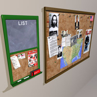 3ds max cork board 01 corkboard
