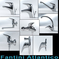 Fantini Atlantico series mixer collection