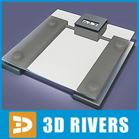 maya floor scales