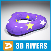 Inflatable swim ring 03 by 3DRivers