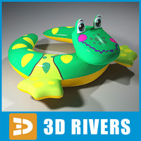 Inflatable swim ring 06 by 3DRivers
