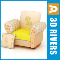 Kids chair 01 by 3DRivers