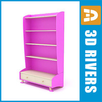 3d model kid cupboard