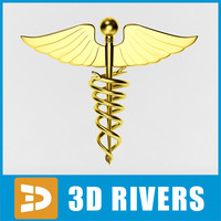 Medical symbol by 3DRivers