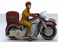 amazing toy motorcycle 3d model