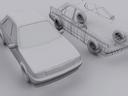 peugeot 405 3D models
