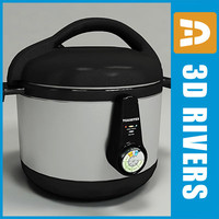 3ds max pressure cooker